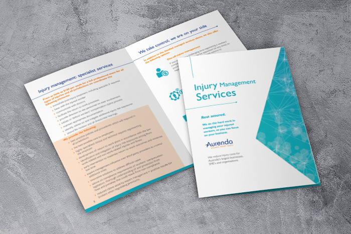 Injury Management Brochure